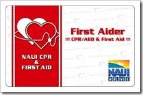 【講習のお知らせ】NAUI CPR講習!