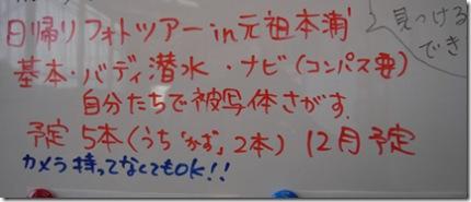 2007潜り納めのご案内!!