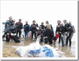 海底清掃!2010!!